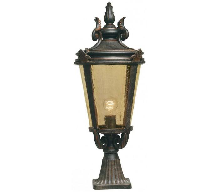 Baltimore halvmurslampe h68 cm 1 x e27 - patineret bronze fra elstead lighting fra lepong.dk