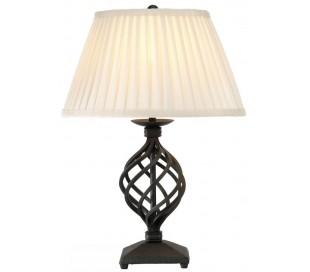 Belfery Bordlampe H43 cm 1 x E27 - Sort/Creme