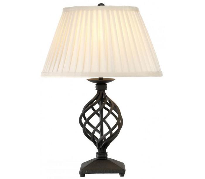 Image of   Belfery Bordlampe H43 cm 1 x E27 - Sort/Creme