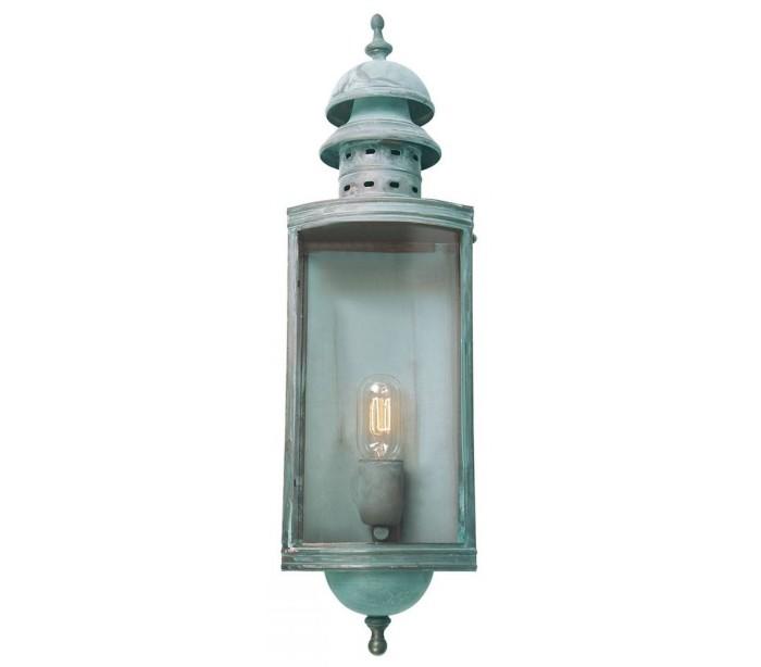 Downing Street Væglampe H60 cm 1 x E27 – Verdigris fra Elstead Lighting