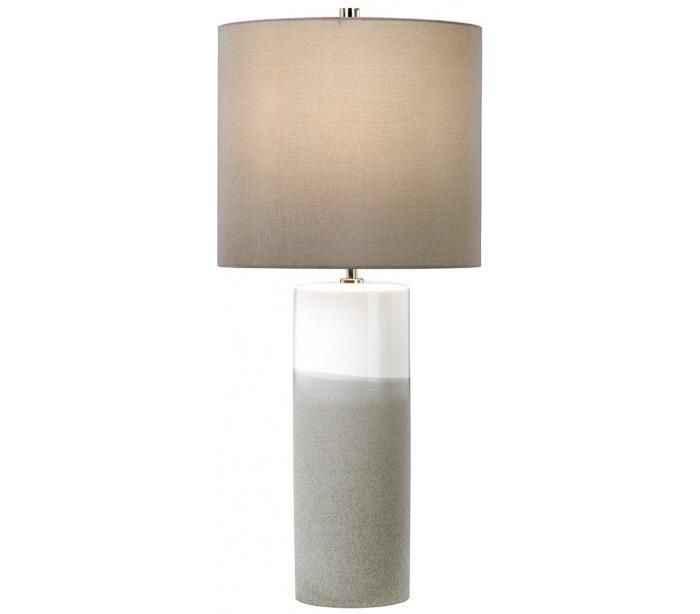 Fulwell bordlampe h68 cm 1 x e27 - mat grå/grå fra elstead lighting fra lepong.dk