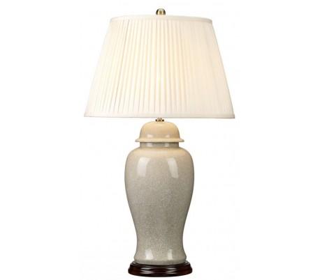 Ivory Crackle Bordlampe H81 cm 1 x E27 - Krakeleret elfenbenshvid/Creme