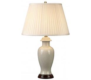 Ivory Crackle Bordlampe H66 cm 1 x E27 - Krakeleret elfenbenshvid/Creme