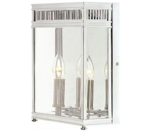 Holborn Væglampe H31 cm 2 x E14 - Poleret krom