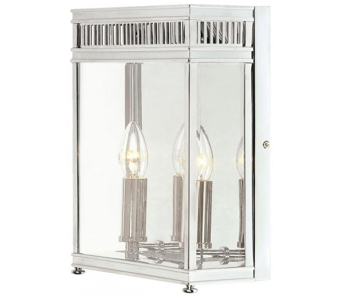 Holborn Væglampe H31 cm 2 x E14 – Poleret krom fra Elstead Lighting