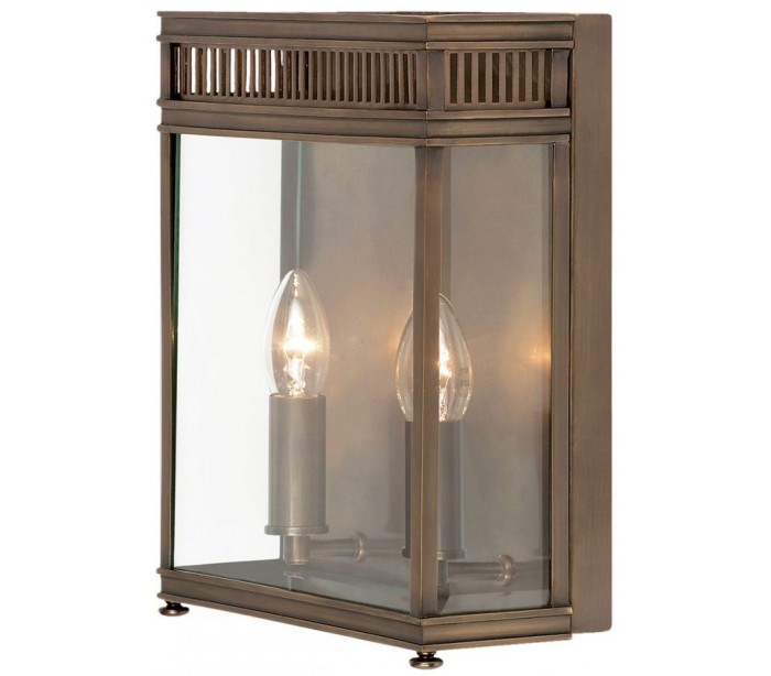 elstead lighting holborn væglampe h31 cm 2 x e14 - mørk bronze
