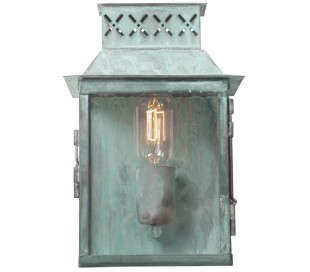 Lambeth Palace Væglampe H27 cm 1 x E27 - Verdigris