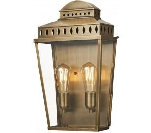 Mansion House Væglampe H48,9 cm 2 x E27 - Aldret messing