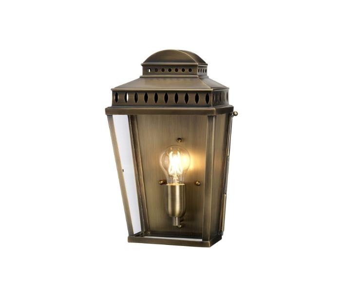 elstead lighting – Mansion house væglampe h37,5 cm 1 x e27 - aldret messing fra lepong.dk