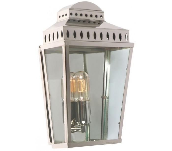 elstead lighting – Mansion house væglampe h37,5 cm 1 x e27 - poleret nikkel på lepong.dk