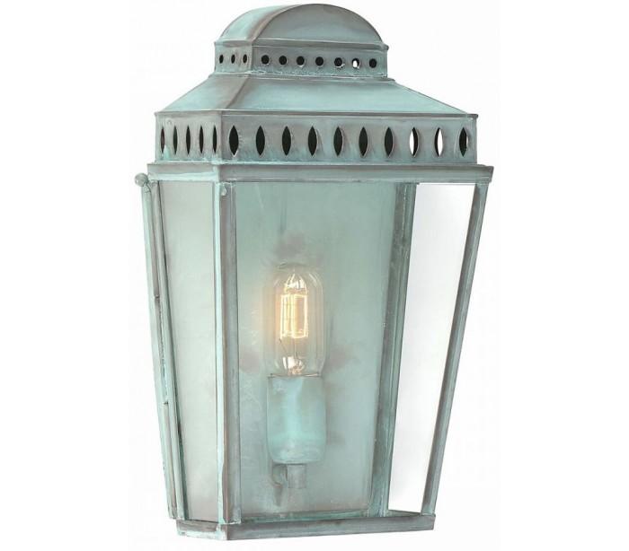 elstead lighting – Mansion house væglampe h37,5 cm 1 x e27 - verdigris på lepong.dk