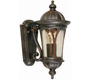 New England Væglampe H35 cm 1 x E27 - Patineret bronze
