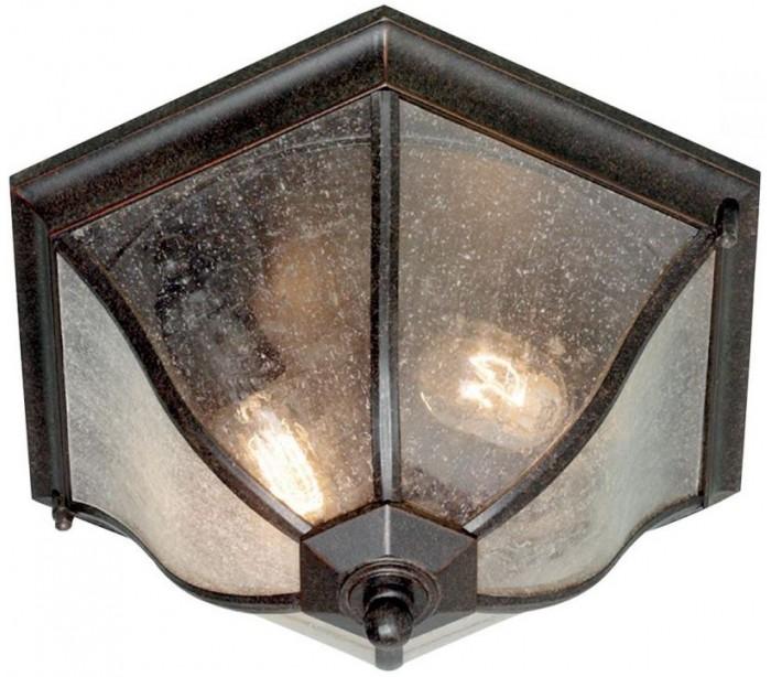 Image of   New England Loftlampe Ø36 cm 2 x E27 - Patineret bronze