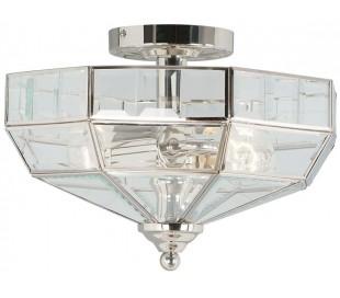 Old Park Loftlampe Ø33 cm 2 x E27 - Poleret nikkel