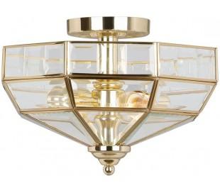 Old Park Loftlampe Ø33 cm 2 x E27 - Poleret messing