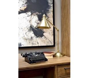 Provence Bordlampe H66 cm 1 x E27 - Aldret messing