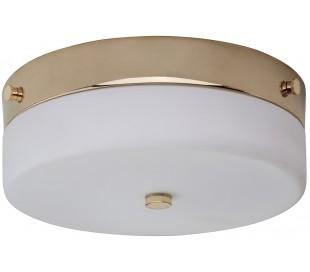Tamar Badeværelseslampe i stål og glas Ø23,5 cm 1 x GX53 LED - Poleret guld