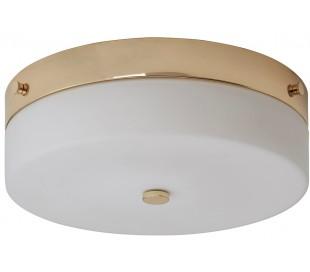 Tamar Badeværelseslampe i stål og glas Ø29 cm 1 x GX53 LED - Poleret guld