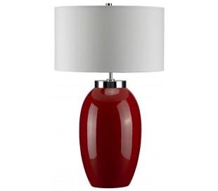 Victor Bordlampe H70 cm 1 x E27 - Rød/Creme