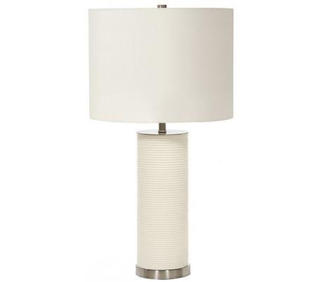 Ripple Bordlampe H65 cm 1 x E27 - Hvid