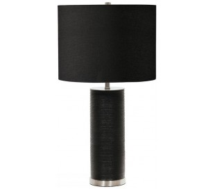 Ripple Bordlampe H65 cm 1 x E27 - Sort