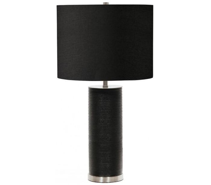 elstead lighting Ripple bordlampe h65 cm 1 x e27 - sort på lepong.dk