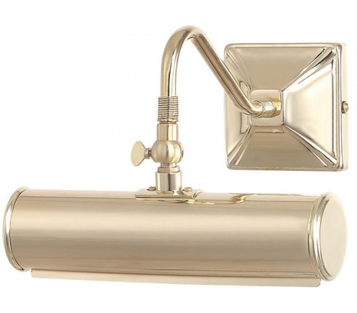 Picture Light Galleri Væglampe B19 cm 1 x E14 – Poleret messing fra Elstead Lighting