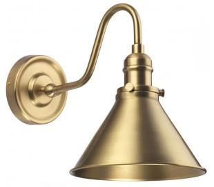 Provence Væglampe H27,5 cm 1 x E27 - Aldret messing