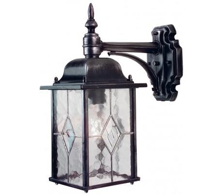 Wexford Væglampe H37 cm 1 x E27 - Patineret sortsølv