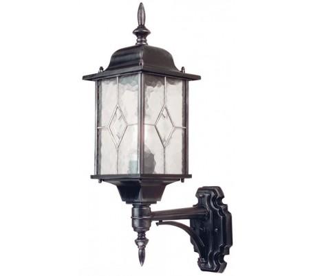 Wexford Væglampe H53,5 cm 1 x E27 - Patineret sortsølv