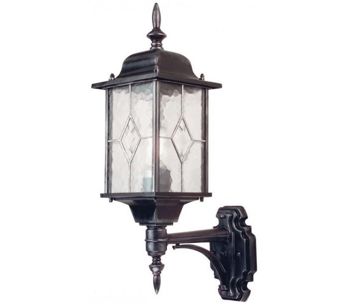 tikamoon – Wexford væglampe h53,5 cm 1 x e27 - patineret sortsølv på lepong.dk