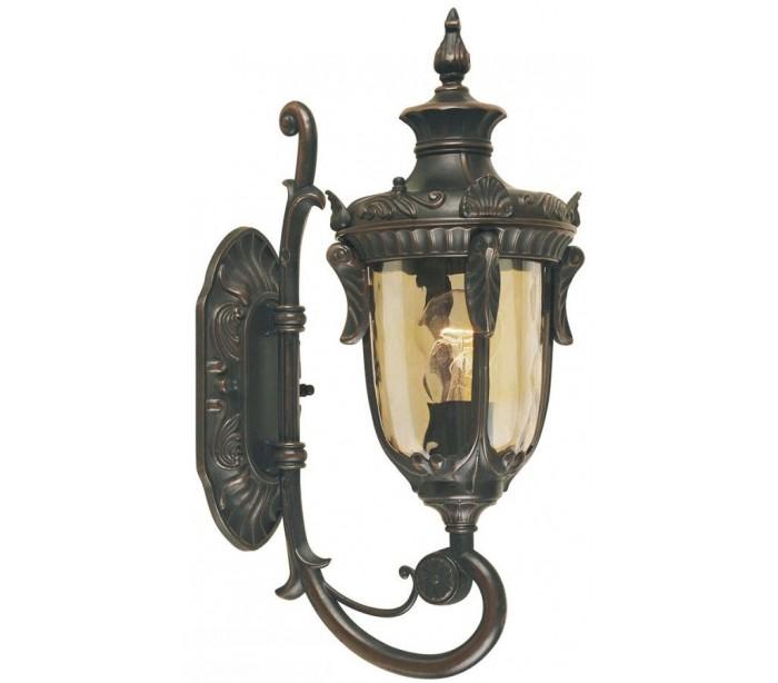 Philadelphia Væglampe H43 cm 1 x E27 – Antik bronze fra Elstead Lighting