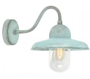 Somerton Væglampe H25 cm 1 x E27 - Verdigris