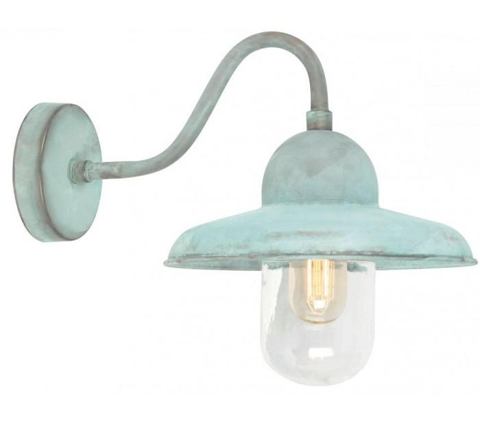 elstead lighting – Somerton væglampe h25 cm 1 x e27 - verdigris fra lepong.dk