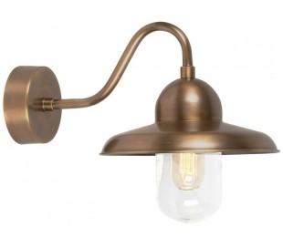 Somerton Væglampe H25 cm 1 x E27 - Aldret messing