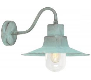 Sheldon Væglampe H24 cm 1 x E27 - Verdigris