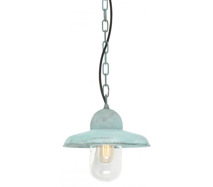 Somerton Loftlampe Ø24 cm 1 x E27 – Verdigris fra Elstead Lighting