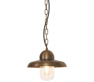 Somerton Loftlampe Ø24 cm 1 x E27 - Aldret messing