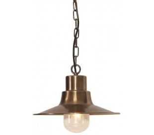 Sheldon Loftlampe Ø29,5 cm 1 x E27 - Aldret messing
