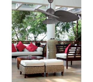 Cuba loftventilator Ø132 cm - Brun