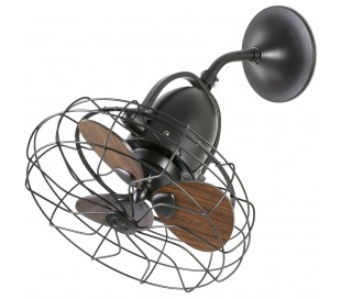 Keiki loftventilator Ø43 cm - Brun
