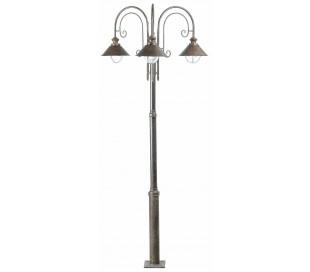 Nautica havelampe H225 cm 3 x E27 - Rust