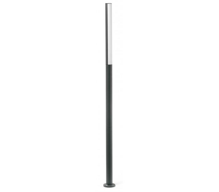 Image of   Beret havelampe H180 cm 1 x SMD LED 16W - Mørkegrå