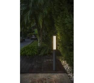Logar havelampe H90 cm 1 x SMD LED 23W - Grå