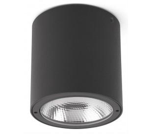 Goz påbygningsspot Ø9 cm 1 x CREE LED 8W - Mørkegrå