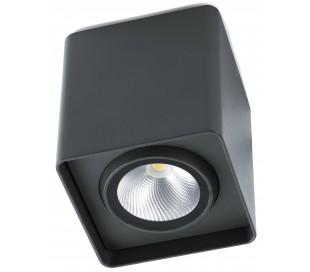 Tami påbygningsspot Ø9 cm 1 x LED 12W - Mørkegrå