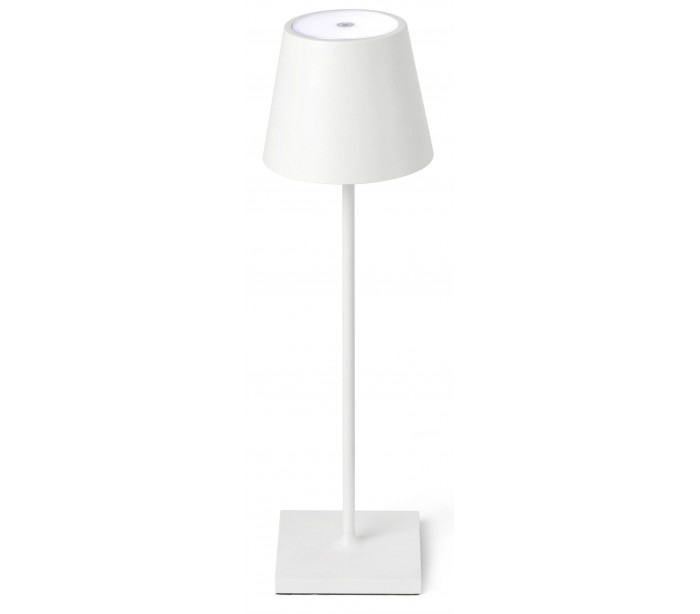 faro barcelona – Toc transportabel bordlampe h39 cm 1 x smd led 2,2w - hvid fra lepong.dk