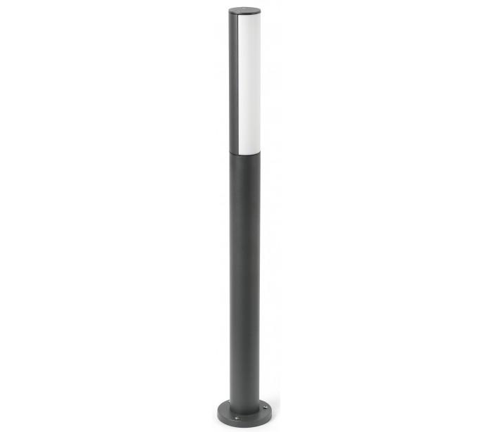 Beret havelampe h90 cm 1 x smd led 8w - mørkegrå fra faro barcelona fra lepong.dk