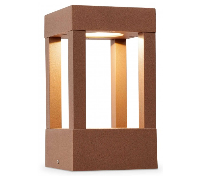 Image of   Agra halvmurslampe H20 cm 1 x COB LED 10W - Rust