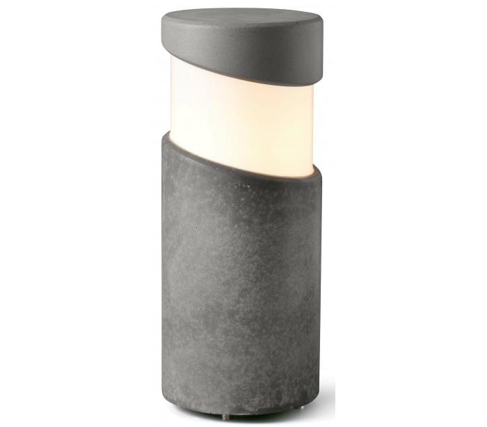 Image of   Block havelampe H35 cm 1 x E27 - Betongrå